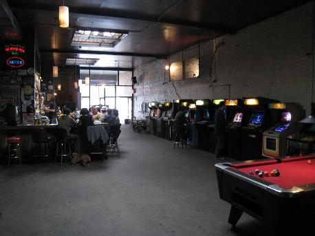 Barcade: it's like a bar... and an arcade. Amazing.