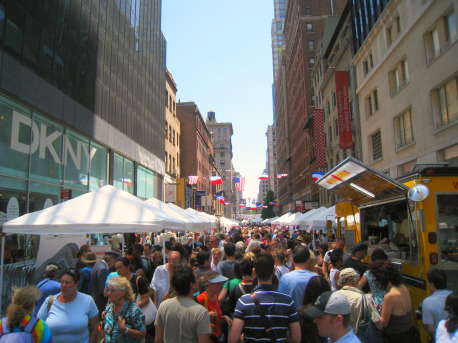 Bastille Day, Manhattan