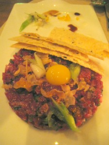 If Kobe tartare isn't enough, Chifa will serve it to you with trout roe and a quail egg.